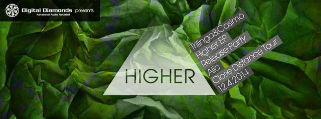 Party Flyer Higher | Digital Diamonds | Release Party 12 Apr '14, 23:00