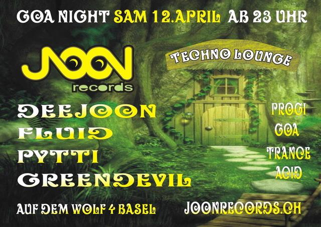Party Flyer JOON & MOON 12 Apr '14, 23:00
