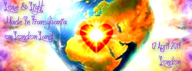 Party Flyer ♪ Love & Light Made in Transylvania on London Land ♪ 12 Apr '14, 23:30