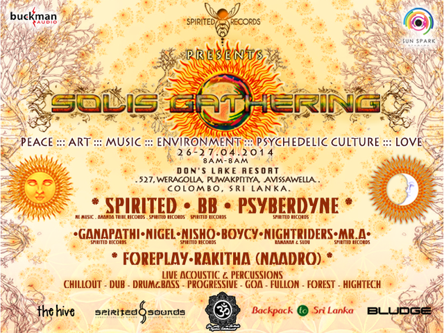 Party Flyer SOLIS GATHERING 26 Apr '14, 08:00