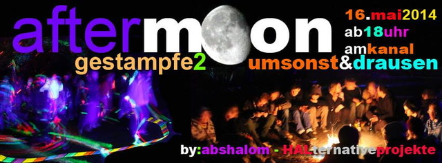 Party Flyer AfterMoon-Getampfe 2 16 May '14, 18:00