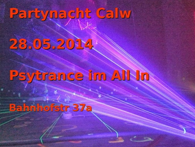 Party Flyer Psyplace ONE 28 May '14, 21:00