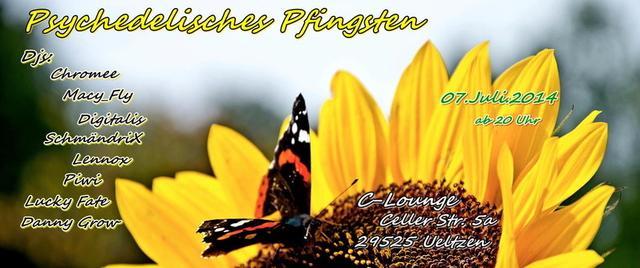 Party Flyer Psychedelisches Pfingsten 7 Jun '14, 20:00