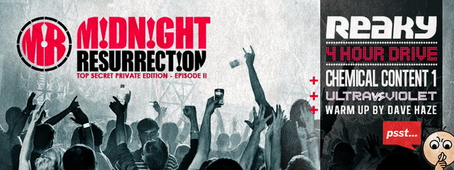 Party Flyer Midnight Resurrection T.S.P.E. - Private event for MR CIRCLE members only 24 Jun '14, 22:00