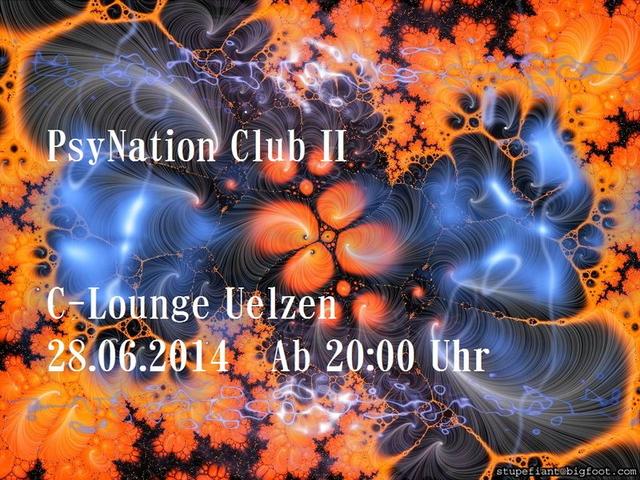 Party Flyer PsyNation Club II 28 Jun '14, 20:00