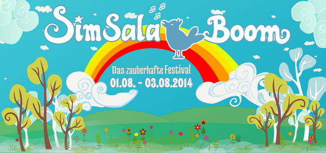 Party Flyer SimSalaBoom Festival 2014 1 Aug '14, 16:00