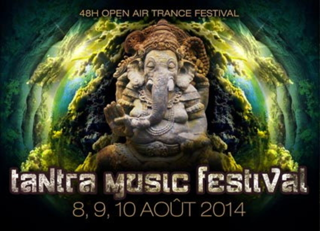 Party Flyer TANTRA MUSIC OPEN AIR FESTIVAL 8 Aug '14, 18:00
