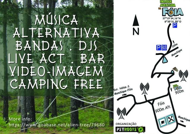 Party Flyer Alien Tree 16 Aug '14, 22:00