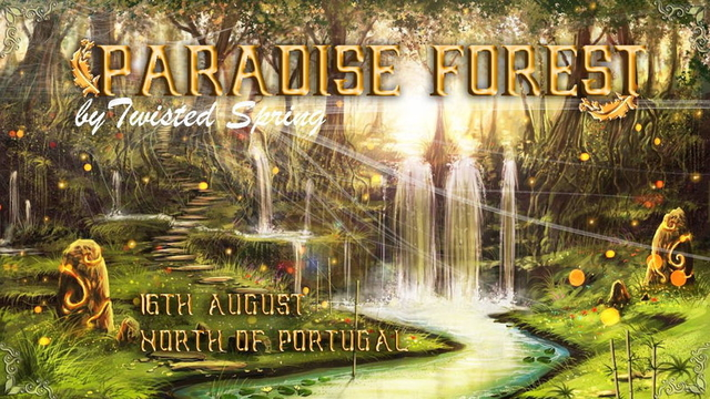 Party Flyer Paradise Spring 16 Aug '14, 22:00