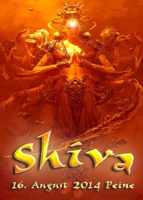 Party Flyer Shiva 16 Aug '14, 22:00