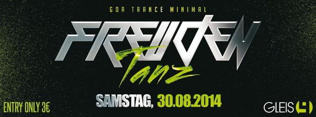 Party Flyer Freudentanz 30 Aug '14, 22:00