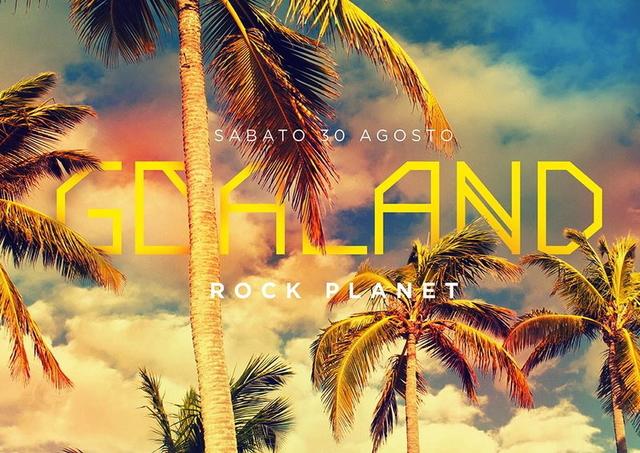Party Flyer GOALAND - VANDAL & TENKA LIVE 30 Aug '14, 22:00