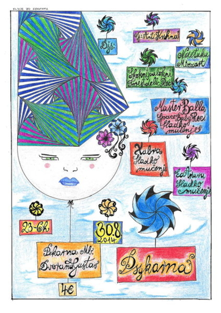 Party Flyer :::Psykarna VI : Awakened Dreamers::: 30 Aug '14, 23:00
