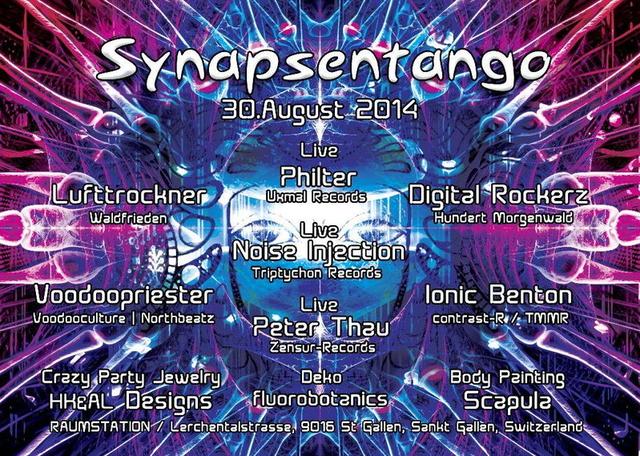 Party Flyer Synapsen Tango 30 Aug '14, 21:00