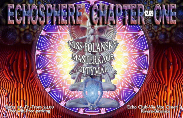 Party Flyer Echosphere Chapter one 12 Sep '14, 23:00