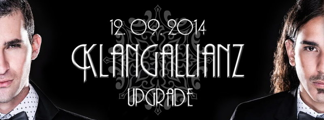 Party Flyer Klangallianz w/ UPGRADE 12 Sep '14, 22:00