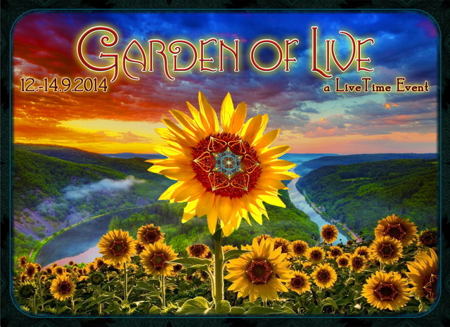 Party Flyer LiveTime presents: Garden of Live 12 Sep '14, 22:00