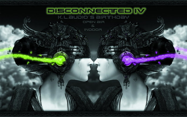Party Flyer *PIT STOP Presents DISCONNECTED IV* feat K.L.Audio´s Birthday *** Live : MR 20 Sep '14, 22:00
