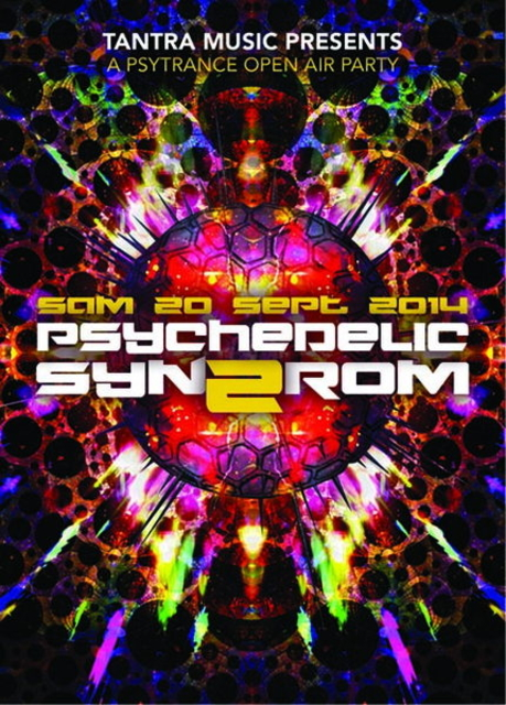 Party Flyer PSYCHEDELIC SYNDROM #2 20 Sep '14, 22:00