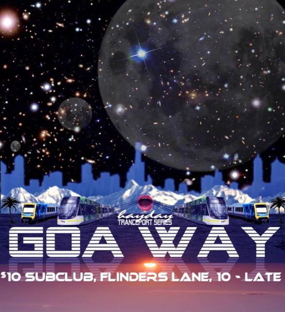 Hayday Tranceport Series: GOAWAY 3 Oct '14, 22:00