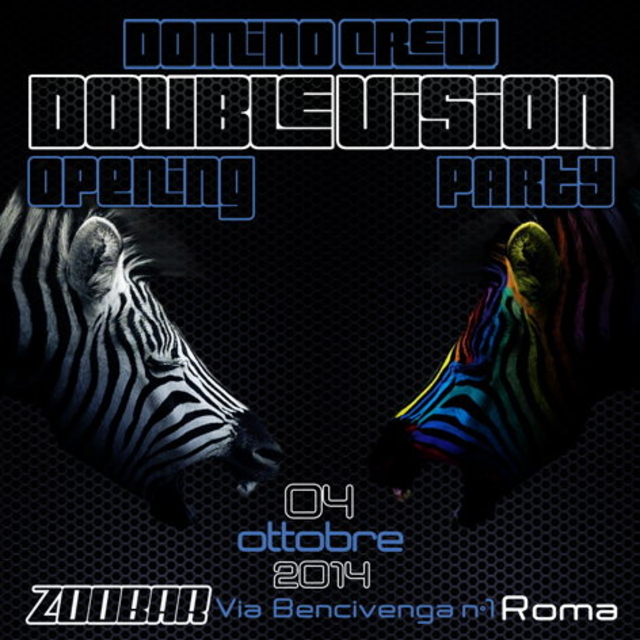 Party Flyer DOUBLE VISION opening PARTY + AFTER GRATIS! 4 Oct '14, 23:00