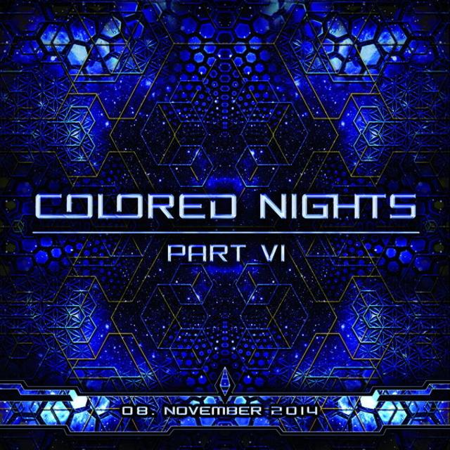 Party Flyer Colored Nights Part VI 8 Nov '14, 22:00