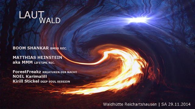 Party Flyer Lautwald 29 Nov '14, 22:00