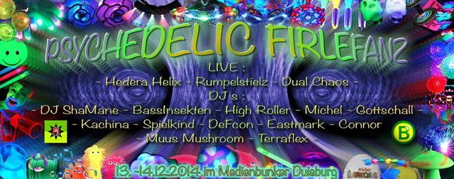 Psychedelic Firlefanz *Möllis Birthday* 13 Dec '14, 22:00