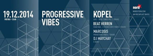 Party Flyer Progressive Vibes 19 Dec '14, 23:00
