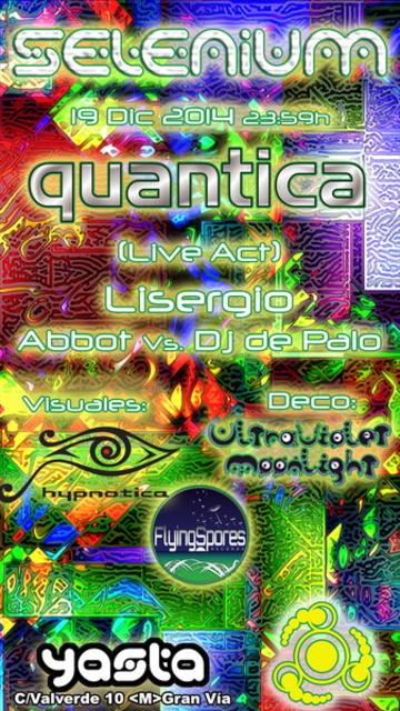 Party Flyer SELENIUM 19 Dec '14, 23:30
