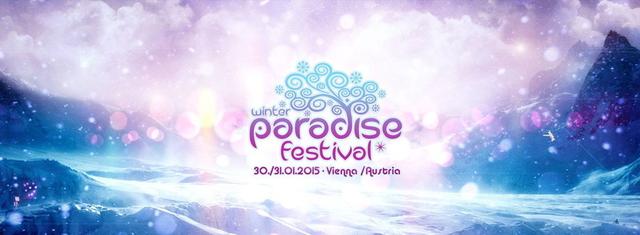 Party Flyer PARADISE WINTER FESTIVAL 2015 30 Jan '15, 21:00