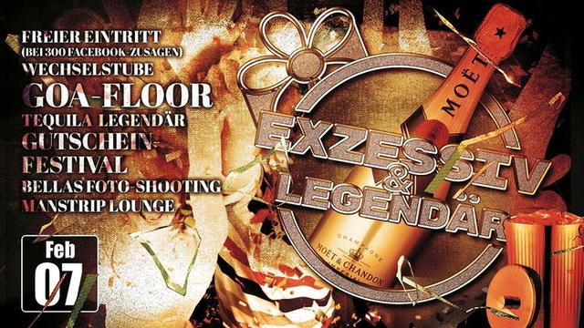 Party Flyer Exzessiv & Legendär 7 Feb '15, 23:00