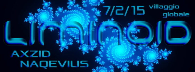 Party Flyer LIMINOID 7 Feb '15, 23:00