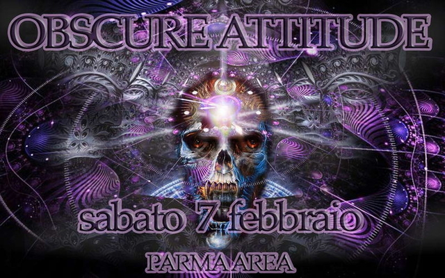 Party Flyer OBSCURE ATTITUDE - SPORE live (Goanmatra rec.) - INSTINCT WAVE live 7 Feb '15, 22:00