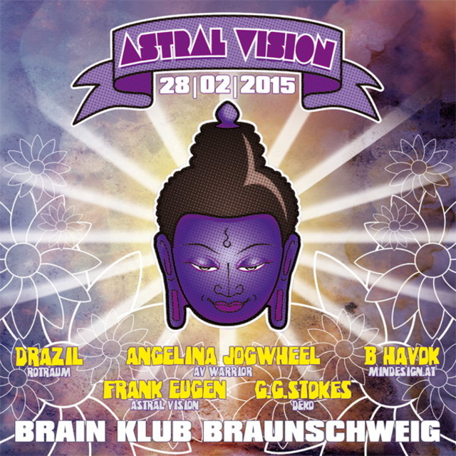 Party Flyer Astral Vision - Lost in Music 28 Feb '15, 23:00