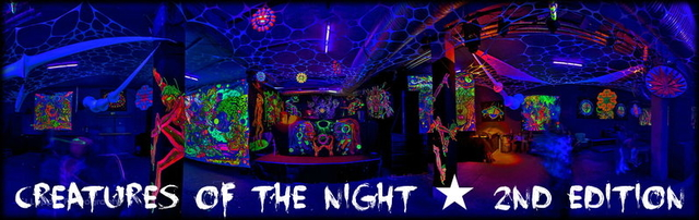 Party Flyer CREATURES OF THE NIGHT ★ 2nd Edition 28 Feb '15, 23:00
