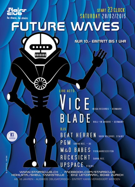 Party Flyer Future Waves 28 Feb '15, 23:00
