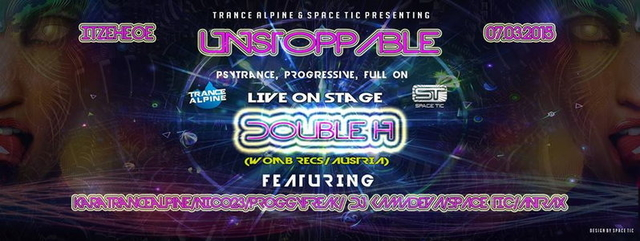 Party Flyer UNSTOPPABLE 7 Mar '15, 22:00