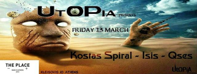 Party Flyer UtOPiA Progressive 13 Mar '15, 23:30