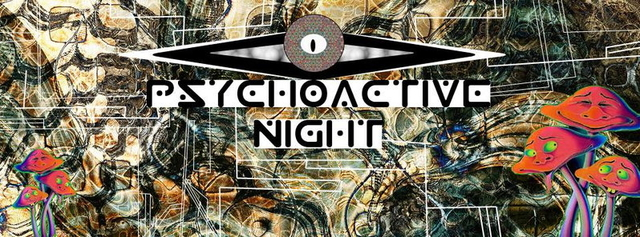 Party Flyer Ears & Eyes presents Psychoactive Night 30 Apr '15, 23:30
