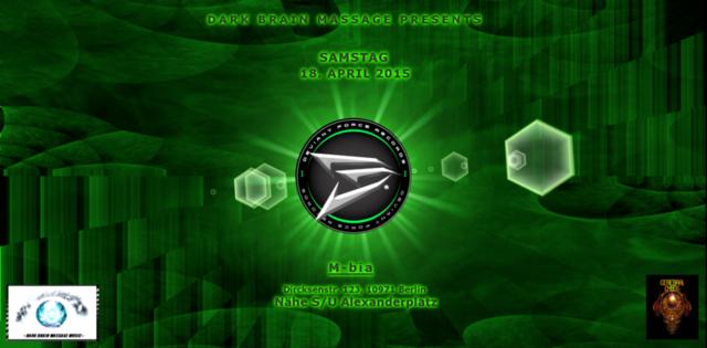 Party Flyer DARK BRAIN MASSAGE - Deviant Connection!!! 18 Apr '15, 22:00