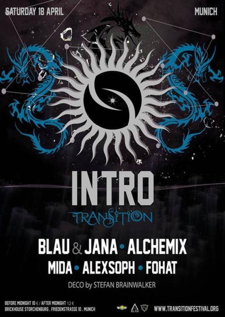 Party Flyer Intro Transition - Munich/München 18 Apr '15, 22:00