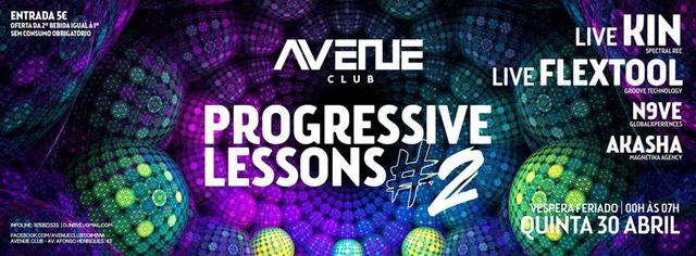 Party Flyer Progressive Lessons #02 30 Apr '15, 23:30