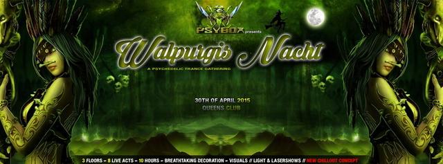Party Flyer PSYBOX pres. *** WALPURGIS NACHT *** 30 Apr '15, 22:00