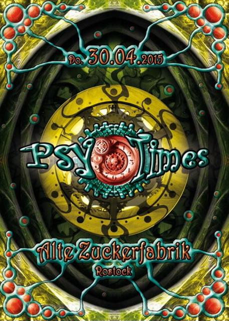 Party Flyer ૐ*PsyTimes*Psy in den Mai-/SLACKJOINT & PSY AGENCY - Live *3Floor's ૐ 30 Apr '15, 22:00