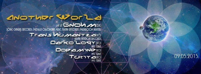 Party Flyer Another World 9 May '15, 23:00