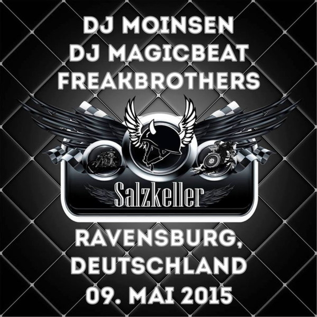 Party Flyer Progi/Psy Night Salzkeller Ravensburg 9 May '15, 22:00