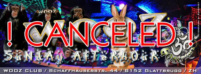 Party Flyer SUNDAY AFTERHOUR @ WOOZ Club in Glattbrugg ZH 10 May '15, 13:00