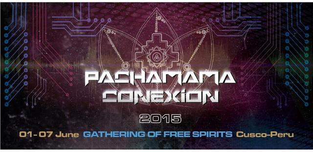Party Flyer PACHAMAMA CONEXION FESTIVAL 2015 1 Jun '15, 17:30