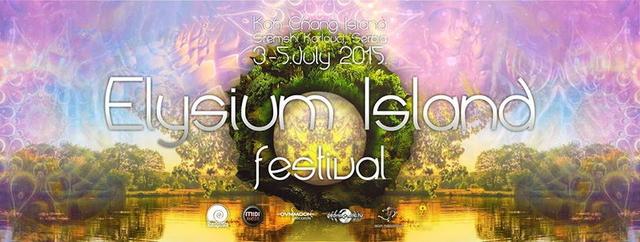 Party Flyer ELYSIUM ISLAND FESTIVAL 2015 3 Jul '15, 12:00